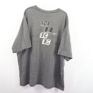 90s Nike Mens 2XL Spell Out Block Letter T Shirt
